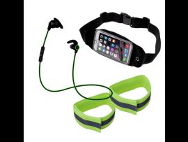 """Løbepakke med bælte til smartphone (5-7"""" smartphones)"""