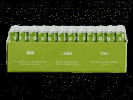 48-Pak AAA Batterier