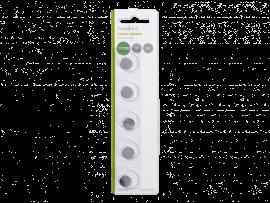 5-Pak CR1220 Knapcelle Batterier