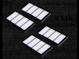 4 Stk. HEPA filter iRobot Roomba S9 / S9+