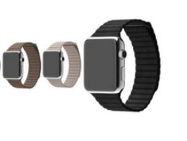 Apple watch læderrem