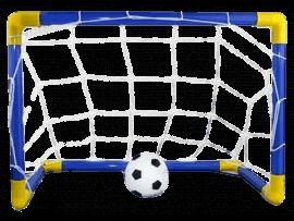 Mini Fodboldmål til Børn inkl. Bold & Pumpe