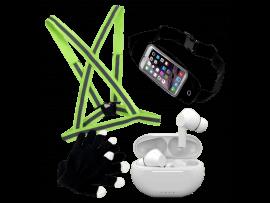 """Vinter løbepakke med bælte til smartphone (5-7"""" smartphones)"""