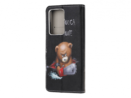 Angry Bear Flip Cover til Samsung Galaxy Note 20 Ultra