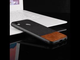 Curi TPU Cover m. PU Læder til Huawei P Smart (2019)
