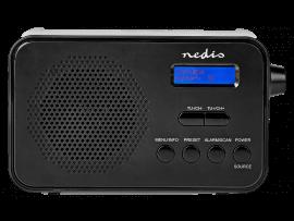 DAB+ Radio med USB- eller AAA-Batteri-Opladning