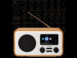 DAB+ Radio med Farveskærm & Bluetooth - 7W