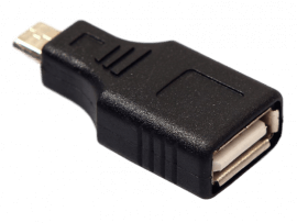 Mikro USB til USB 2.0 Adapter