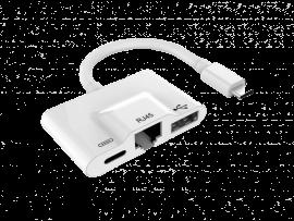 USB-C Hub m. Ethernet & USB