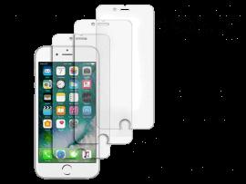 3 Stk. Hærdet beskyttelsesglas til iPhone 5 / 5S / 5C / SE