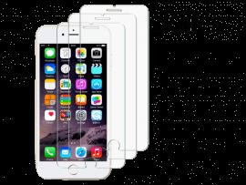3 Stk. Hærdet beskyttelsesglas til iPhone 7 / 8