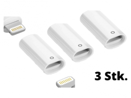 3 Stk. Lightning Adapter til Apple Pencil