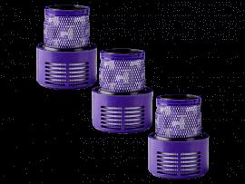 3stk HEPA Motorfilter til Dyson V10