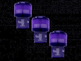 3stk HEPA Motorfilter til Dyson V11