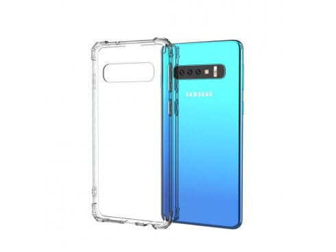 Transparent TPU Cover til Samsung Galaxy S10