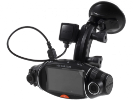 R310 Dashcam med GPS & Dual Camera