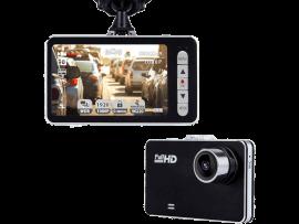 W1 Dashcam med Fuld HD & LCD Skærm