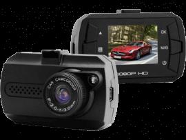 W2 Dashcam med LCD Skærm & Fuld HD