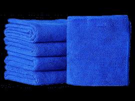 10 Stk. Mikrofiberklude i Blå - 30 x 30 cm