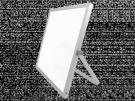 Magnetisk Whiteboard Tavle m. Stativ – 25x25cm