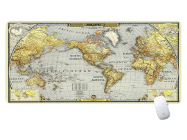 Verdenskort Musemåtte