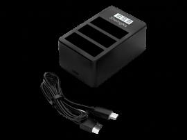Tredobbelt Batteri Oplader til DJI Osmo Action