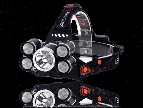 Pandelampe m/ 5 LED-Pærer