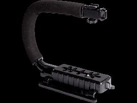 Håndholdt C-Formet GoPro/DSLR Mount
