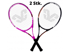 2 Stk. W205 Tennisketcher-Sort & Pink