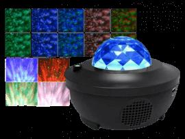Stjerne Projektor m. Højtaler