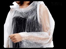 3 Stk. Gennemsigtigt Regnslag