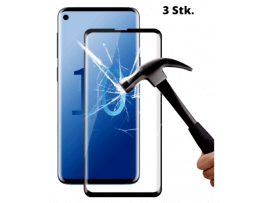 3 Stk. Buet Beskyttelsesglas til Samsung Galaxy S10