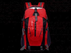 30L Rød Vandafvisende Rejserygsæk