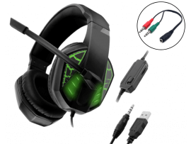 Hydra G971 Gaming Headset til PC, PS4 & Xbox