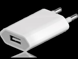 USB oplader til stikkontakt