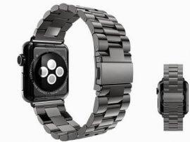 Rem / urlænke i rustfrit stål til Apple Watch 5