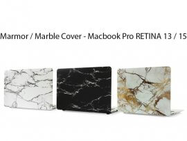 "Marmor / Marble Cover - Macbook Pro RETINA 13"" (A1369/A1466/A1425) & 15"" (A1398)"