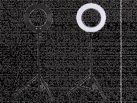 Ring Lys m. 180 LED-Pærer til Fotostudie