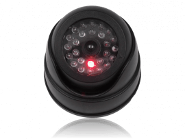 Dummy Sikkerhedskamera m/LED-lys