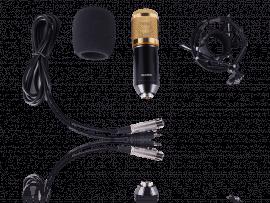 Ara X100 Mikrofon m/ Shock Mount & Vindhætte