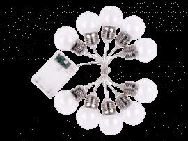 10-LED Lyskæde m. Pærer