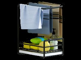 Stativ med Trådkurv & Drypbakke