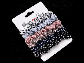 6-Pak Mini Scrunchie