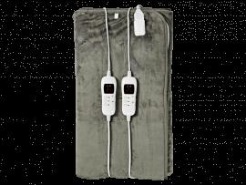 Elektrisk Dobbelt Varmetæppe m. Timer - 140 x 160cm
