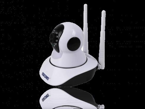 IP Overvågningskamera m/ Dreje-funktion