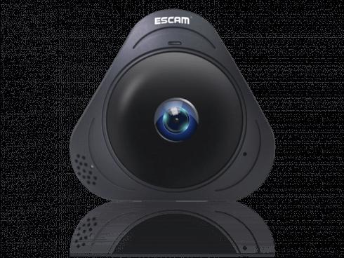 360 Graders Indendørs WiFi Overvågningskamera