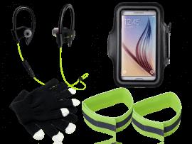 """Vinter løbepakke (5.8 til 6.8"""" smartphones)"""