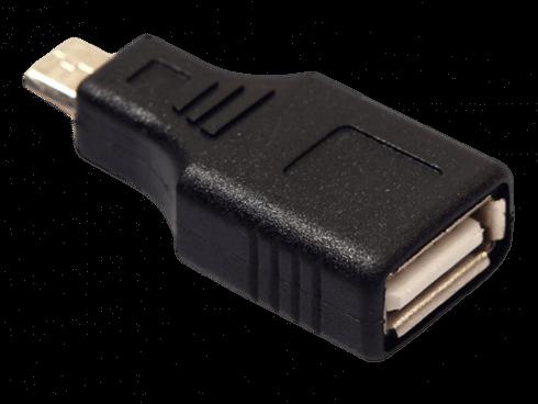 Mikro USB til USB 2.0 Adapter