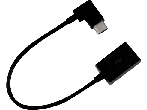 USB-C til USB 2.0 adapter