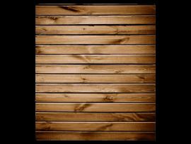Flat Lay Baggrund m. Brunt Træ